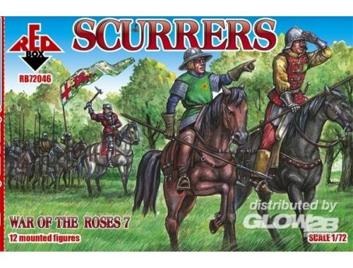 Red Box Scurrers, War of the Roses 7 1:72 (72046)