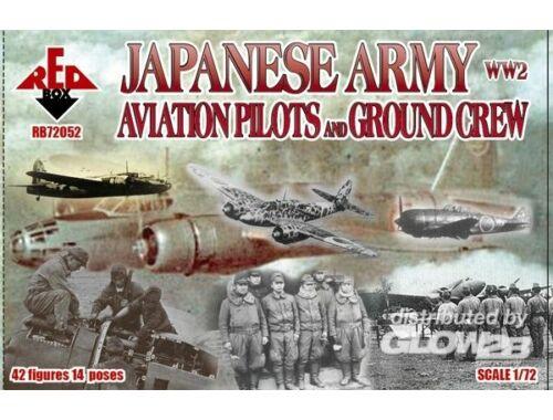 Red Box WW2 Japanese Army Aviation pilots a.grcr 1:72 (72052)