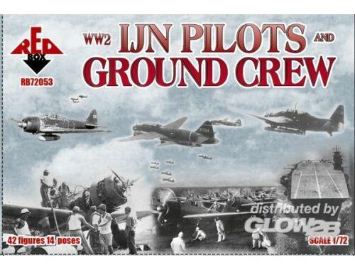 Red Box WW2 IJN pilots and ground crew 1:72 (72053)