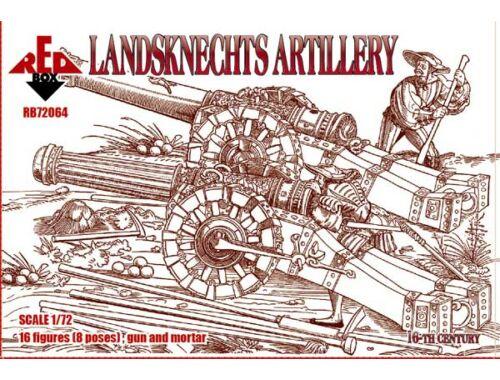 Red Box Landsknechts (Artillery), 16th century 1:72 (72064)