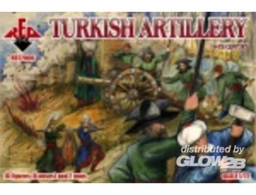 Red Box Turkish artillery, 16th century 1:72 (72066)