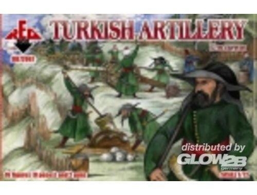 Red Box Turkish artillery, 17th century 1:72 (72067)