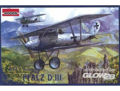 Roden Pfalz D.III World War 1 1:72 (003)
