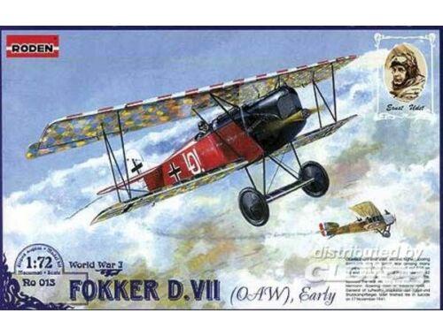 Roden Fokker D.VII (OAW) Early 1:72 (013)