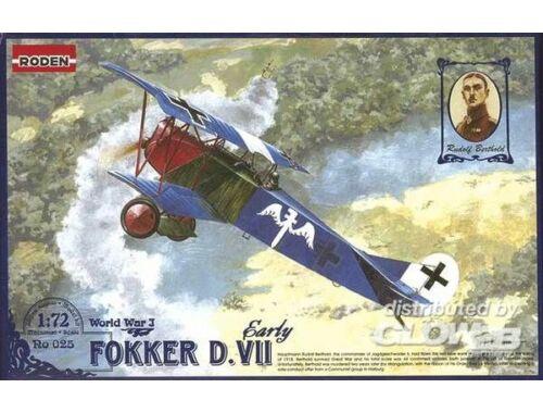 Roden Fokker D.VII early 1:72 (025)