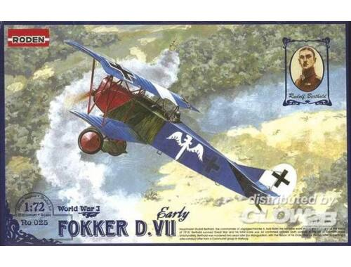 Roden Fokker D.VII early 1:72 (025)