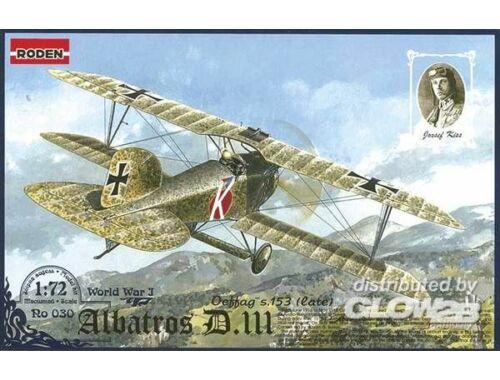 Roden Albatros D.III Oeffag s.153(late) 1:72 (030)