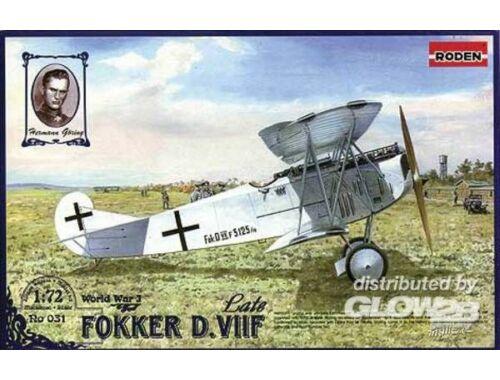 Roden Fokker D.VIIF 1:72 (031)