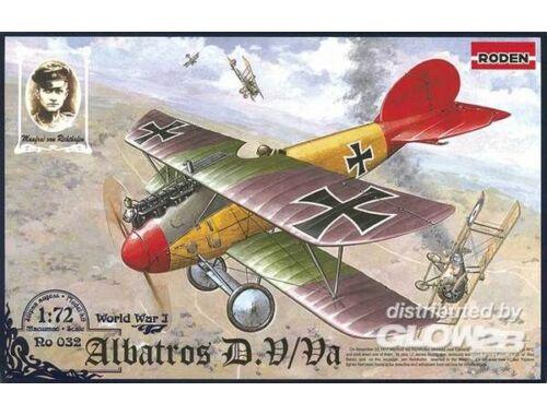 Roden Albatros D.V/D.Va 1:72 (032)