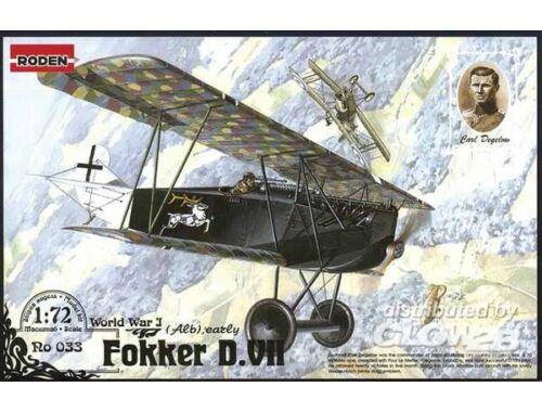 Roden Fokker D.VII Alb early 1:72 (033)