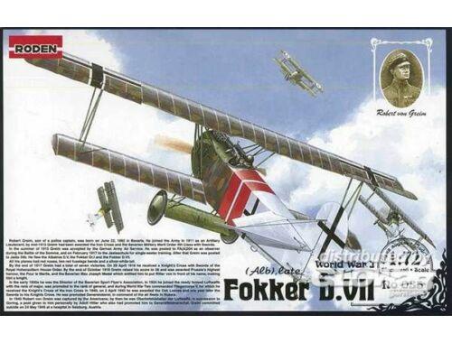 Roden Fokker D.VII Alb late 1:72 (035)