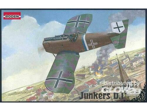 Roden Junkers D. I late World War I 1:72 (036)