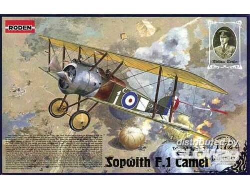 Roden Sopwith Camel F1 ''William Georg Barker'' 1:72 (040)