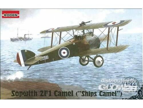 Roden Sopwith 2F1 Camel Ships Camel 1:72 (044)