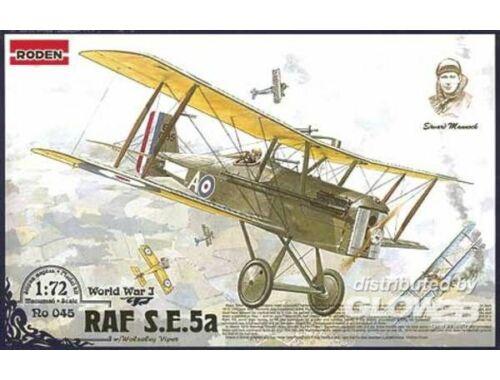 Roden RAF S.E.5a w/Wolseley Viper 1:72 (045)