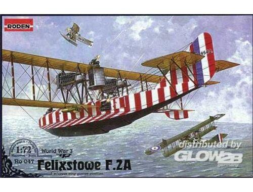 Roden Felixstowe F.2A w/upper wing gunner position 1:72 (047)