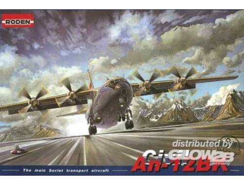Roden AN-12BK Civil 1:72 (048)
