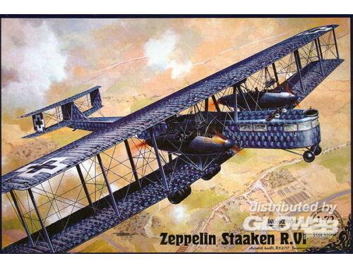 Roden Zeppelin Staaken R.VI (Aviatik, 52/17) 1:72 (050)