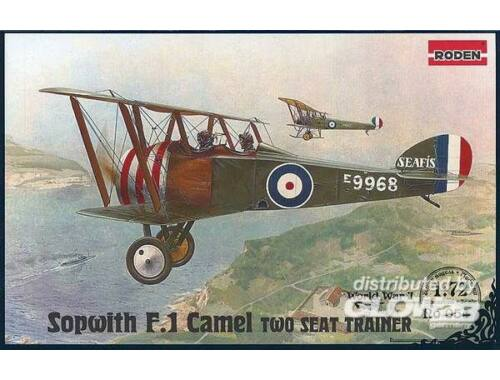 Roden Sopwith T.F.1 Camel Two Seat Trainer 1:72 (054)