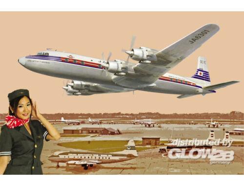 Roden DC-7C Japan Air Lines 1:144 (303)