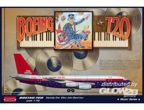 Roden Boeing 720 Elton John 1974 1:144 (315)