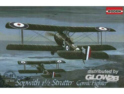 Roden Sopwith 11/2 Strutter Comic fighter 1:48 (407)