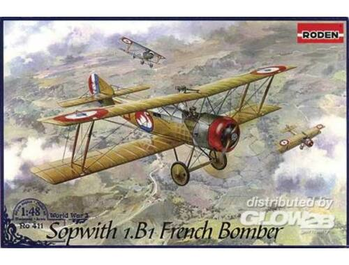 Roden Sopwith 1.B1 French Bomber 1:48 (411)