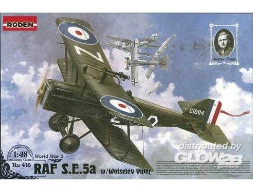 Roden RAF SE5a w/Wolseley Viper 1:48 (416)