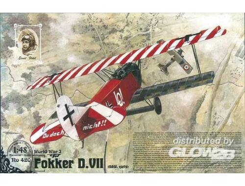 Roden Fokker D.VII (OAW built, early) 1:48 (420)