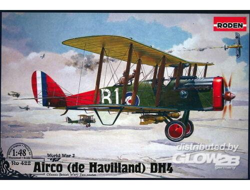 Roden De Havilland D.H.4 (Eagle Engines) 1:48 (422)