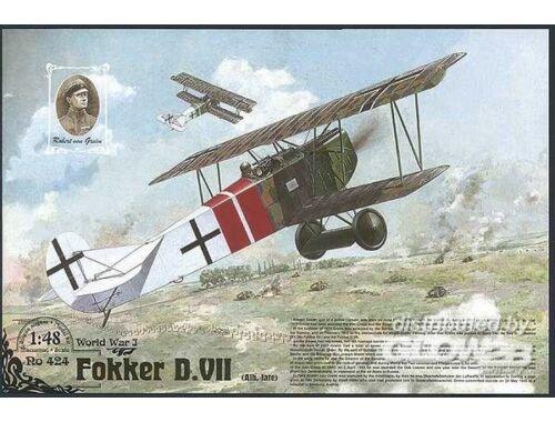 Roden Fokker D.VII 1:48 (424)