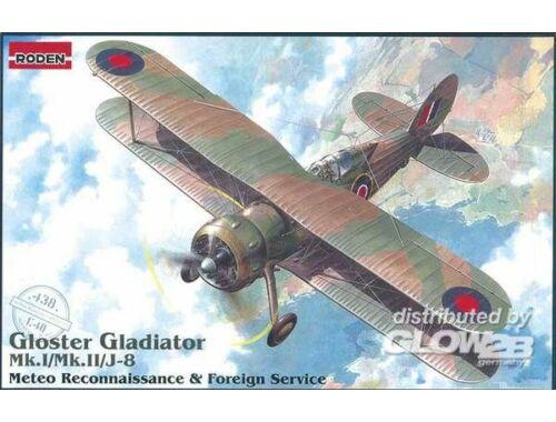 Roden Gloster Gladiator Mk.I/Mk.II/J-8 Meteo Reconnaissance 1:48 (438)