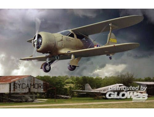 Roden Beechcraft UC-43 Staggerwing 1:48 (442)