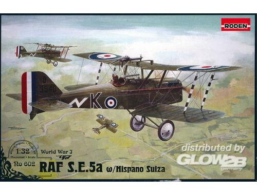Roden RAF S.E.5a w/Hispano Suiza 1:32 (602)