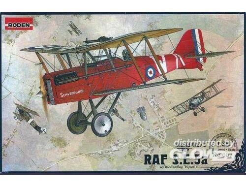 Roden RAF S.E.5a w/Wolseley Viper 1:32 (607)