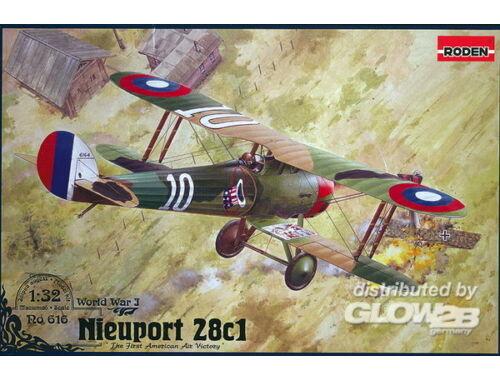 Roden Nieuport 28 c.1 1:32 (616)