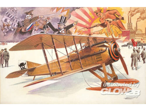 Roden Spad VII c.1 with Russian skies 1:32 (617)