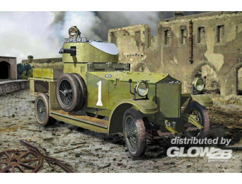 Roden British Armoured Car (Pattern 1914) 1:35 (803)