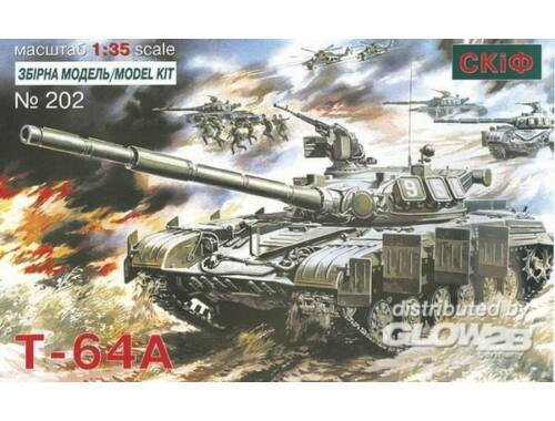 Skif T 64 A Soviet Main Battle Tank 1:35 (202)