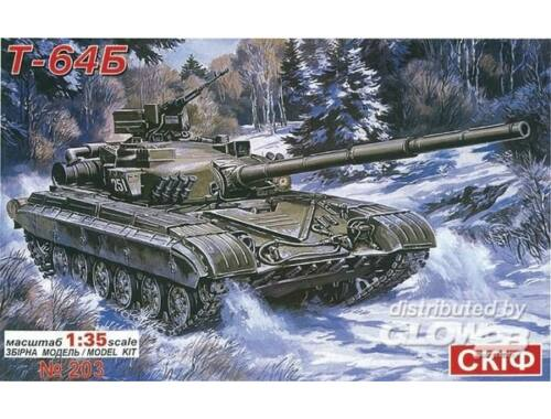 Skif T 64 B Soviet Main Battle Tank 1:35 (203)
