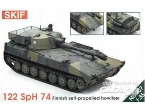 Skif 122 SpH 74 Finnish self-propelling how. ersetzt durch 6075207 1:35 (207)