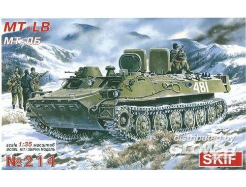 Skif MT-LB Truppentransporter 1:35 (214)
