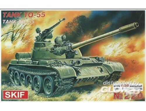 Skif TO-55 Flamm-Panzer 1:35 (220)