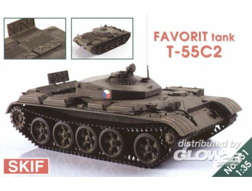 Skif T-55 C2 (FAVORIT) 1:35 (231)