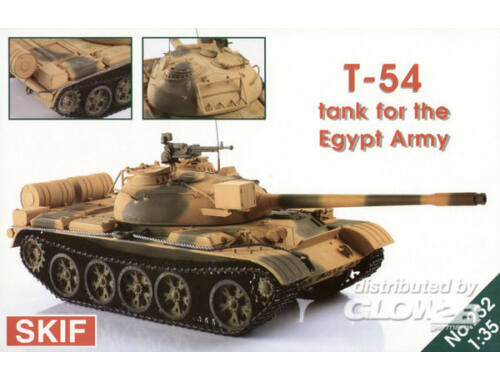 Skif T-54 Tank for the Egypt Army 1:35 (232)