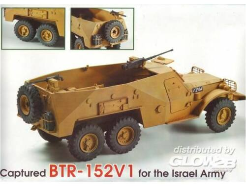Skif BTR-152V1capt.armored troop-carr.,Israel 1:35 (234)