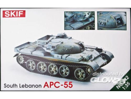 Skif BTR-55, Lebanon 1:35 (242)