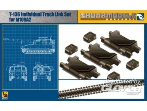 Skunkmodel T-136 TRACK LINK FOR M109A2 1:35 (35001)