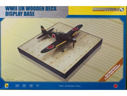 Skunkmodel WWII IJN Wooden Deck Display Base 1:48 (48014)