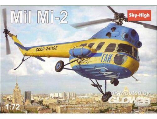 Sky High Mil Mi-2 Soviet helicopter 1:72 (7226)